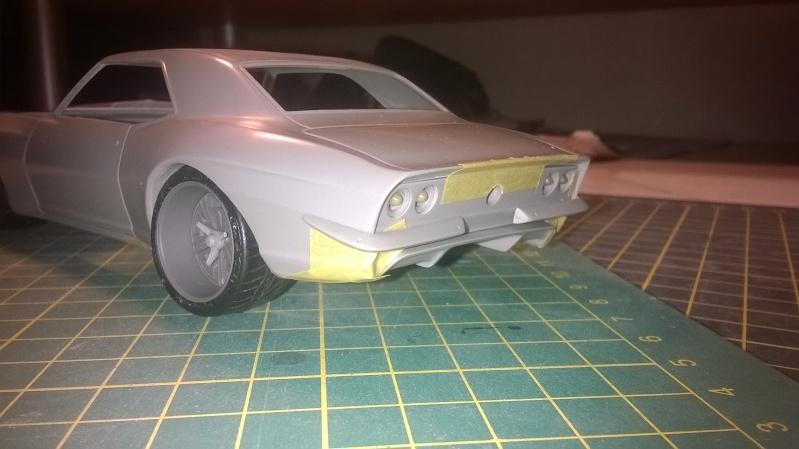 C1 Models - Camaro 67' Resto mod Widebody transkit C1 models  Wp_20133