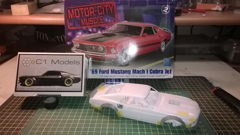 Mustang 69' RTR-X  transkit C1 models Wp_20137