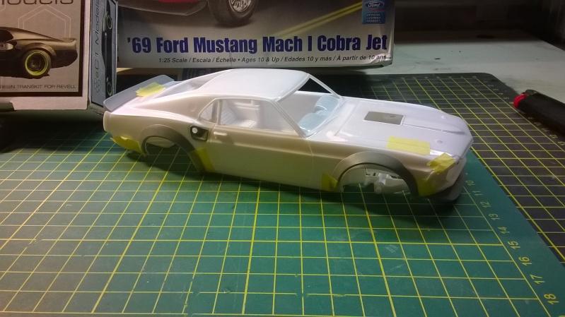 Mustang 69' RTR-X  transkit C1 models Wp_20138