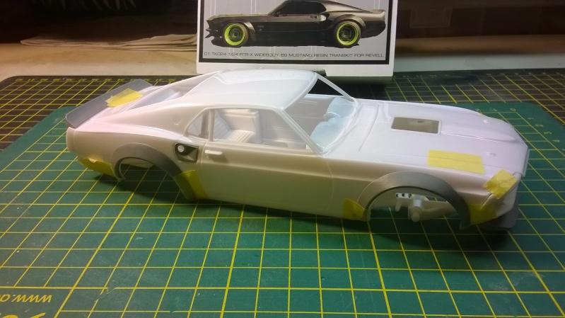 Mustang 69' RTR-X  transkit C1 models Wp_20139