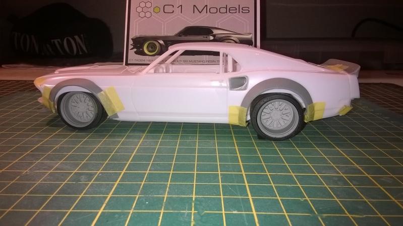 Mustang 69' RTR-X  transkit C1 models Wp_20145