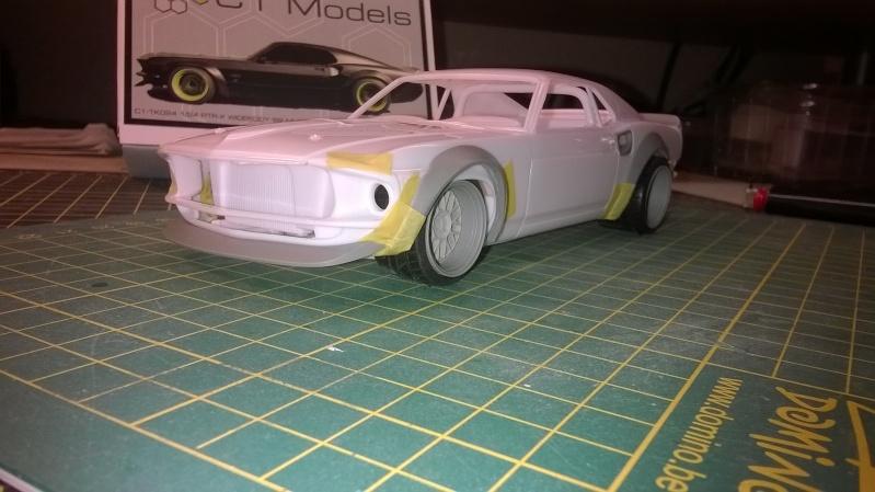 Mustang 69' RTR-X  transkit C1 models Wp_20146