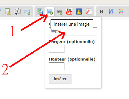 Comment Insérer une photo Topic710