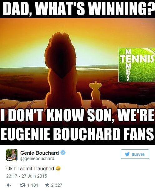 EUGENIE BOUCHARD (Canadienne) - Page 6 Sans_t22
