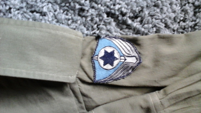 Early IDF Airforce Shirt 20150616