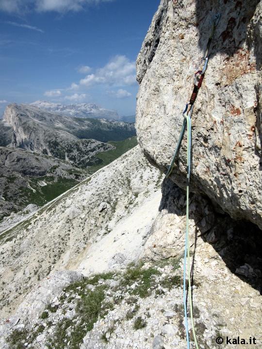 """[Escursionismo verticale] Via """"Alessandra"""" al Piccolo Lagazuoi Ra0310"""