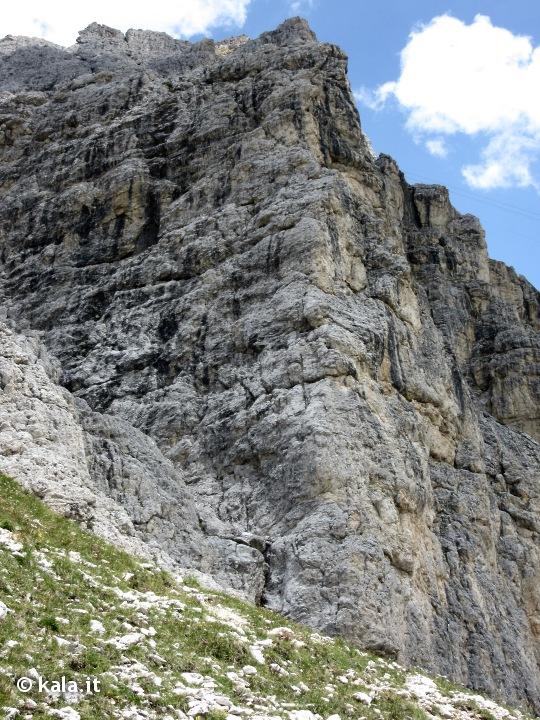 """[Escursionismo verticale] Via """"Alessandra"""" al Piccolo Lagazuoi Ra0610"""