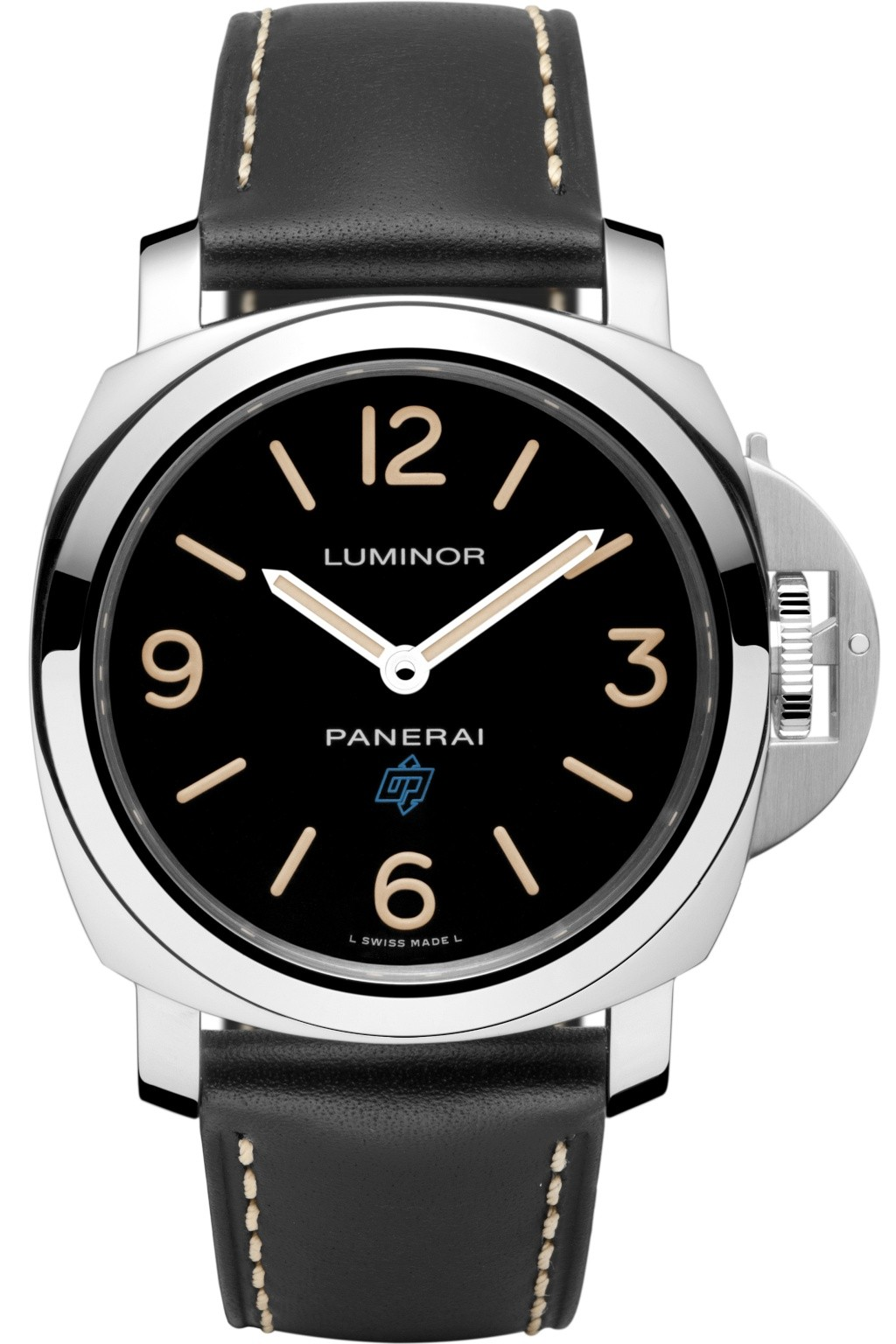 Communiqué de Presse : LUMINOR BASE LOGO ACIER -15th Anniversary Paneristi.com– 44mm - PAM00634 Pam63410