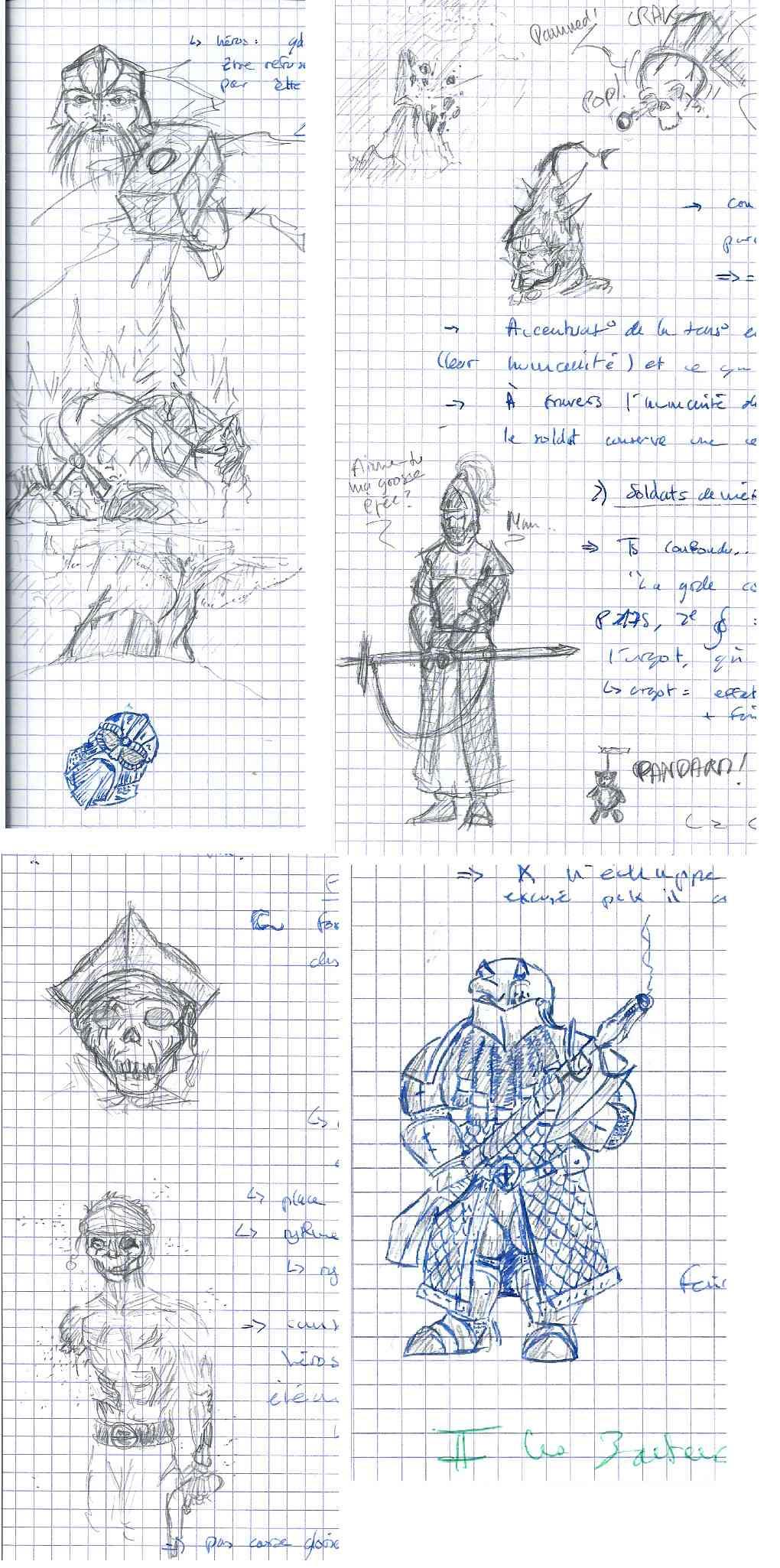 Les dessins de Gromdal - Page 5 Franca12