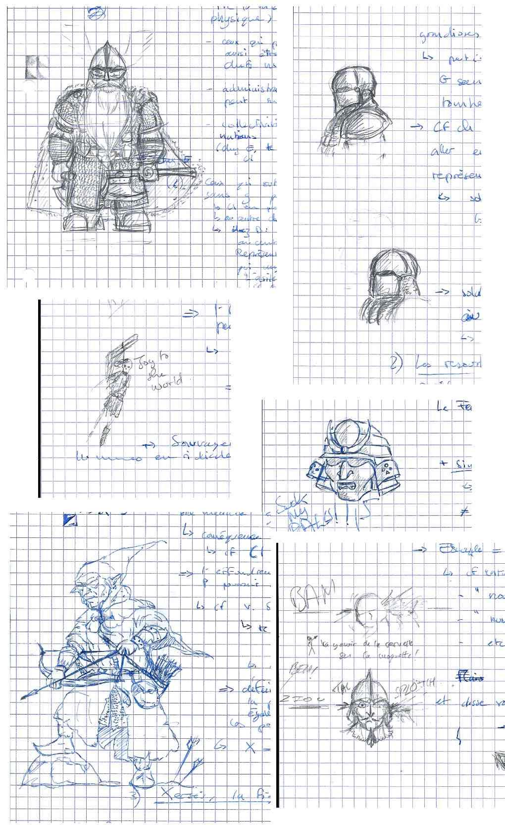 Les dessins de Gromdal - Page 5 Franca13