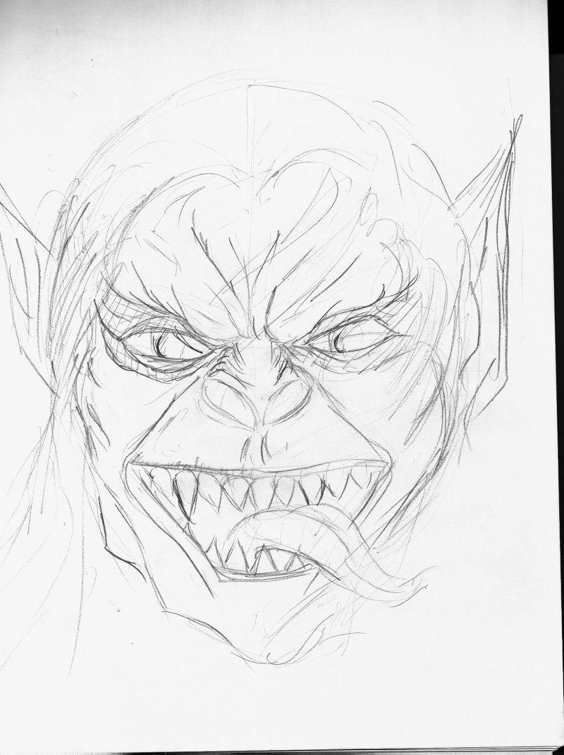 Les dessins de Gromdal - Page 5 Monste10