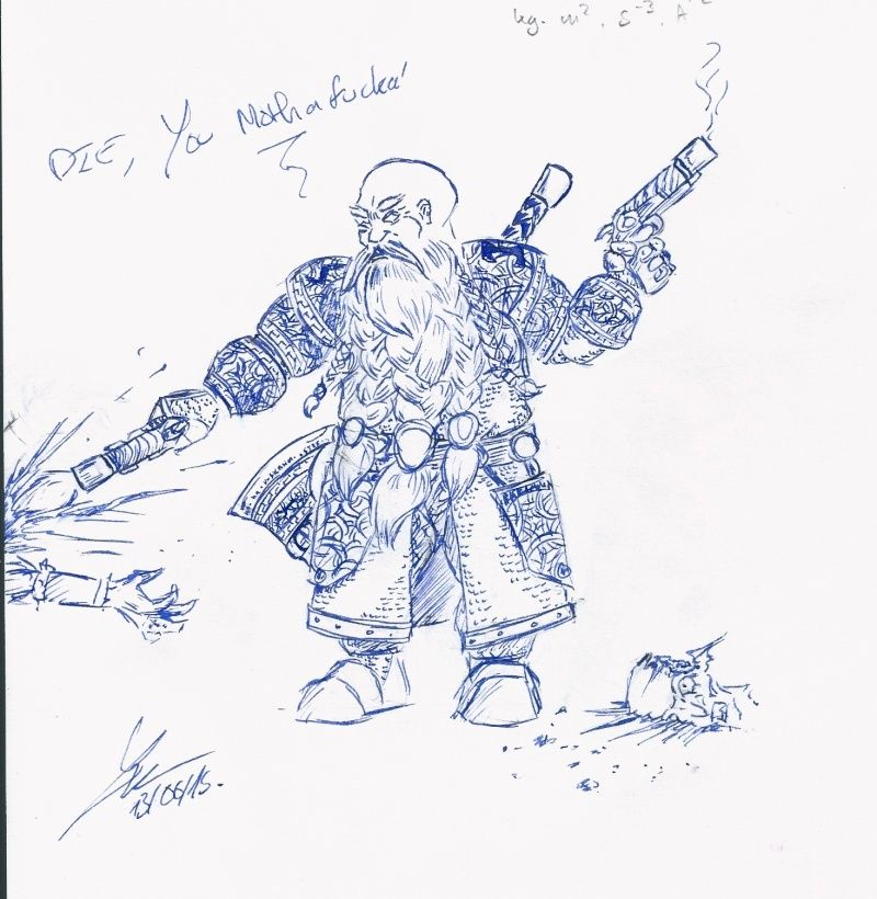 Les dessins de Gromdal - Page 5 Pistol10