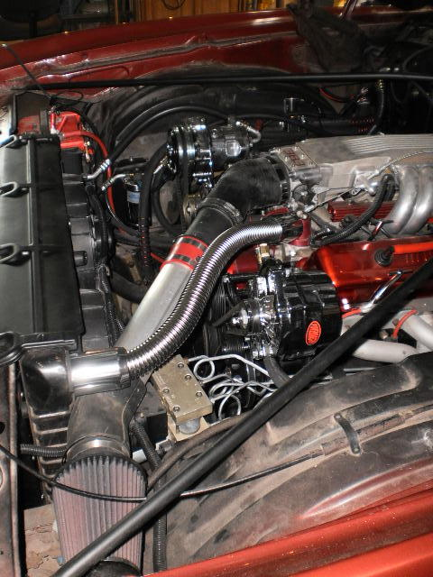 3rd gen engine compartments were boring when new Intake10