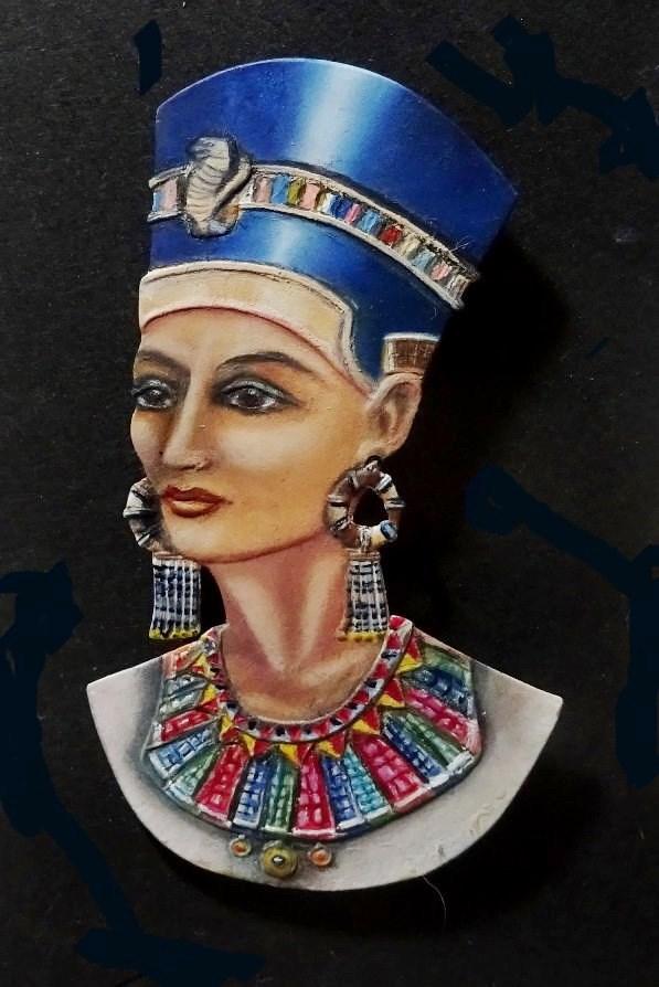 Buste de Néfertiti Dsc02810