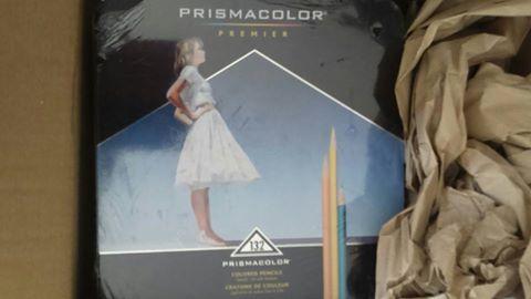 Prisma Soft Core coloré crayons 150 pièces,votre avis,merci :-) Colisa11