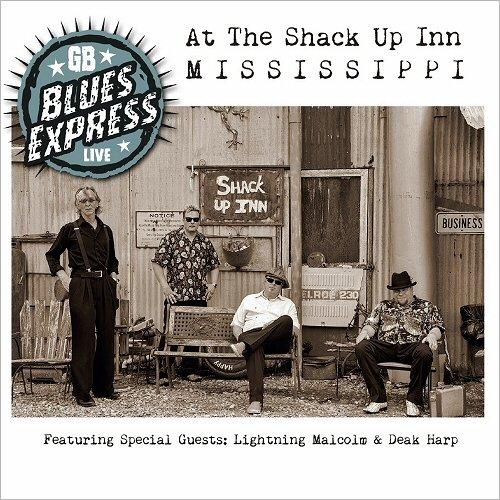 Geir Bertheussen Blues Express- Live At The Shack Up Inn  14334310