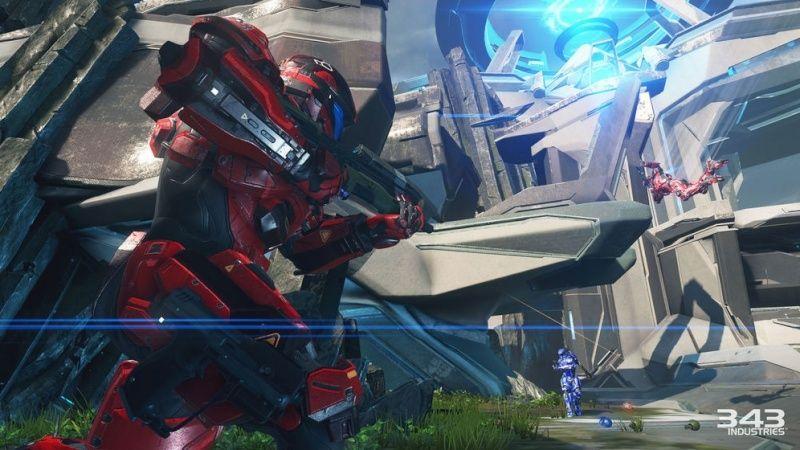 Maps de Halo 5: Guardians (Halo 5/Eden/Crossfire/Truth/Fathoms/Empire/Breakpoint/Forge/Regret/Valhalla/Meltdown/Adrift/Abandon/À la dérive/Complexe/Ragnarok/Solace/Plan/Exil/Refuge/Haven/Longbow/Race tracks/Weapons Location/Warhouse/Wraparound/Remake) Captur14