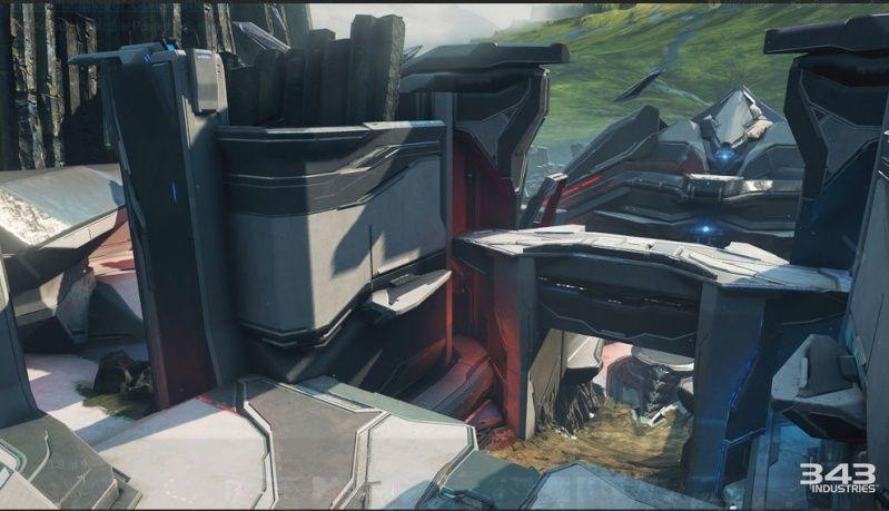 Maps de Halo 5: Guardians (Halo 5/Eden/Crossfire/Truth/Fathoms/Empire/Breakpoint/Forge/Regret/Valhalla/Meltdown/Adrift/Abandon/À la dérive/Complexe/Ragnarok/Solace/Plan/Exil/Refuge/Haven/Longbow/Race tracks/Weapons Location/Warhouse/Wraparound/Remake) Captur15