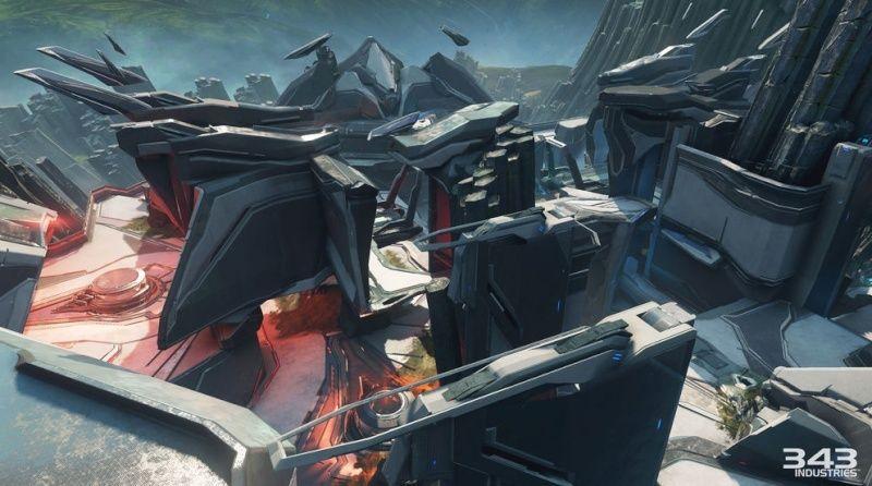 Maps de Halo 5: Guardians (Halo 5/Eden/Crossfire/Truth/Fathoms/Empire/Breakpoint/Forge/Regret/Valhalla/Meltdown/Adrift/Abandon/À la dérive/Complexe/Ragnarok/Solace/Plan/Exil/Refuge/Haven/Longbow/Race tracks/Weapons Location/Warhouse/Wraparound/Remake) Captur16