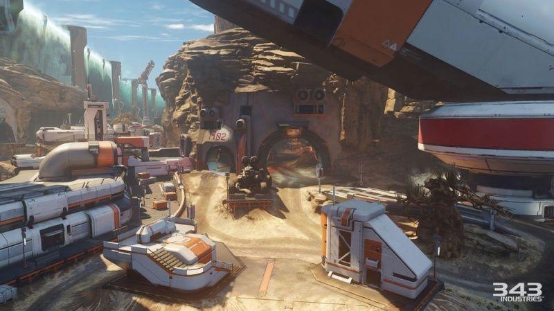 Maps de Halo 5: Guardians (Halo 5/Eden/Crossfire/Truth/Fathoms/Empire/Breakpoint/Forge/Regret/Valhalla/Meltdown/Adrift/Abandon/À la dérive/Complexe/Ragnarok/Solace/Plan/Exil/Refuge/Haven/Longbow/Race tracks/Weapons Location/Warhouse/Wraparound/Remake) Captur22