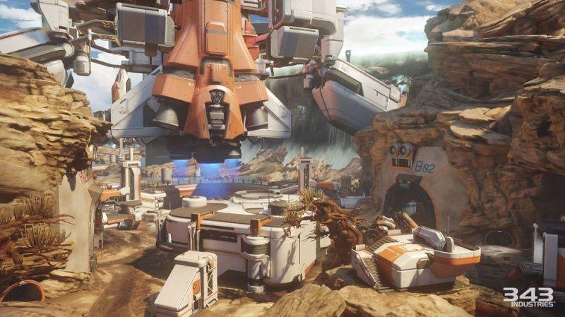 Maps de Halo 5: Guardians (Halo 5/Eden/Crossfire/Truth/Fathoms/Empire/Breakpoint/Forge/Regret/Valhalla/Meltdown/Adrift/Abandon/À la dérive/Complexe/Ragnarok/Solace/Plan/Exil/Refuge/Haven/Longbow/Race tracks/Weapons Location/Warhouse/Wraparound/Remake) Captur23