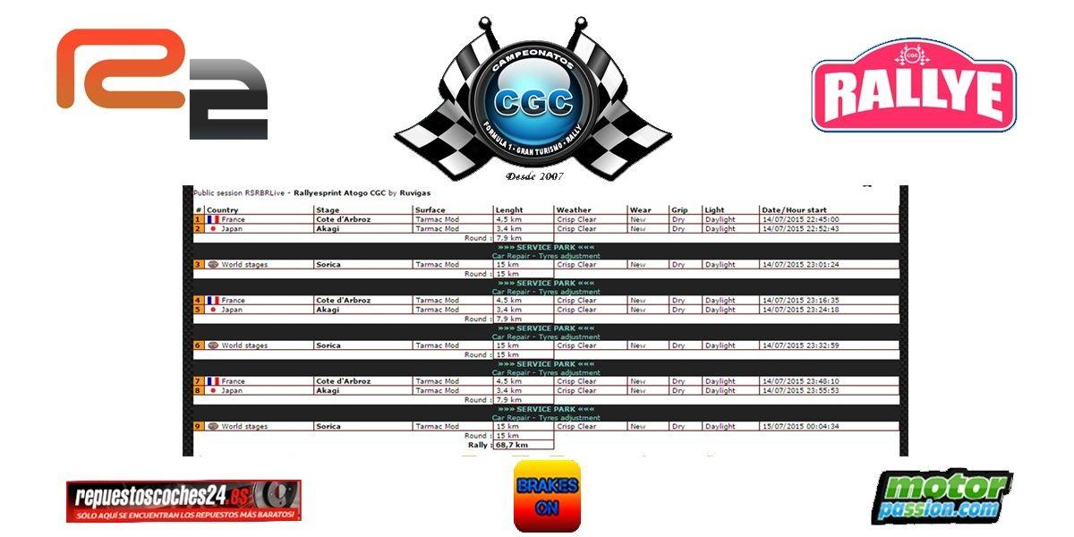 Confirmación Shakedown Rallyesprint Atogo CGC R2 13/07/2015 Base_r13
