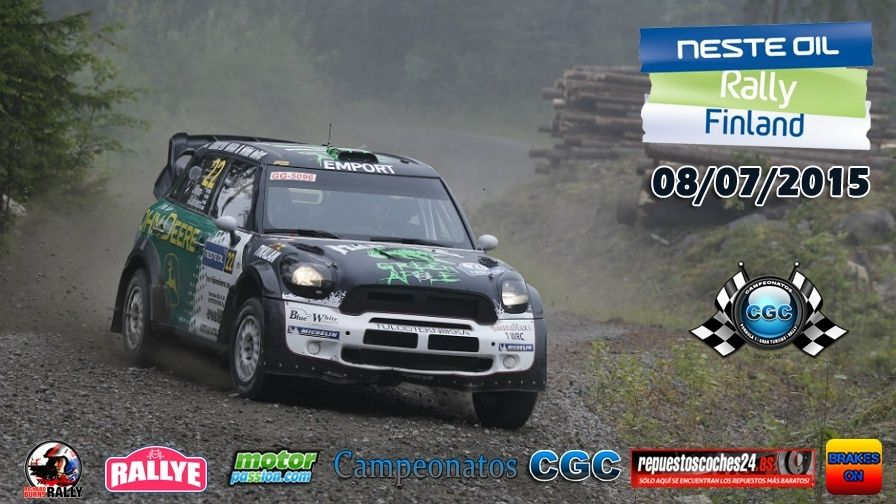 Roadbook  Rally Finlandia R1 08/07/2015 Logo_r17