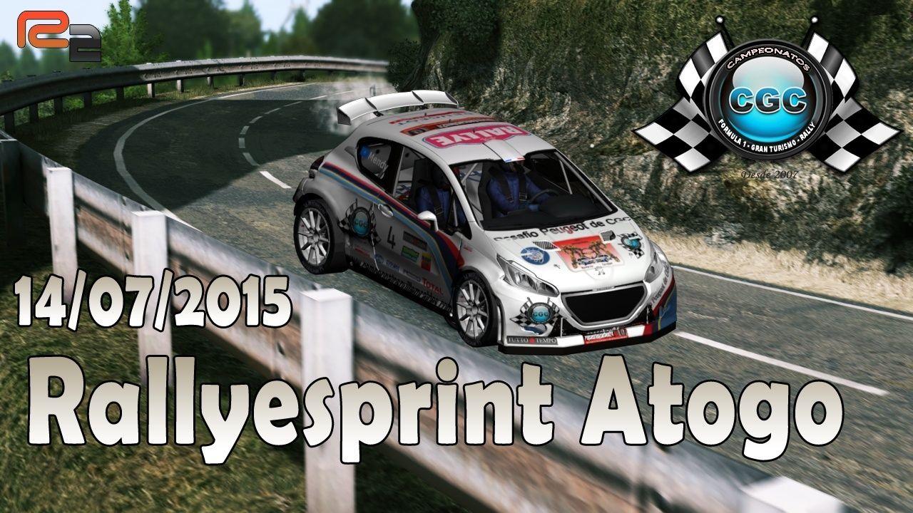 Roadbook  Rallyeprint  Atogo CGC R2 14/07/2015 Logo_r18