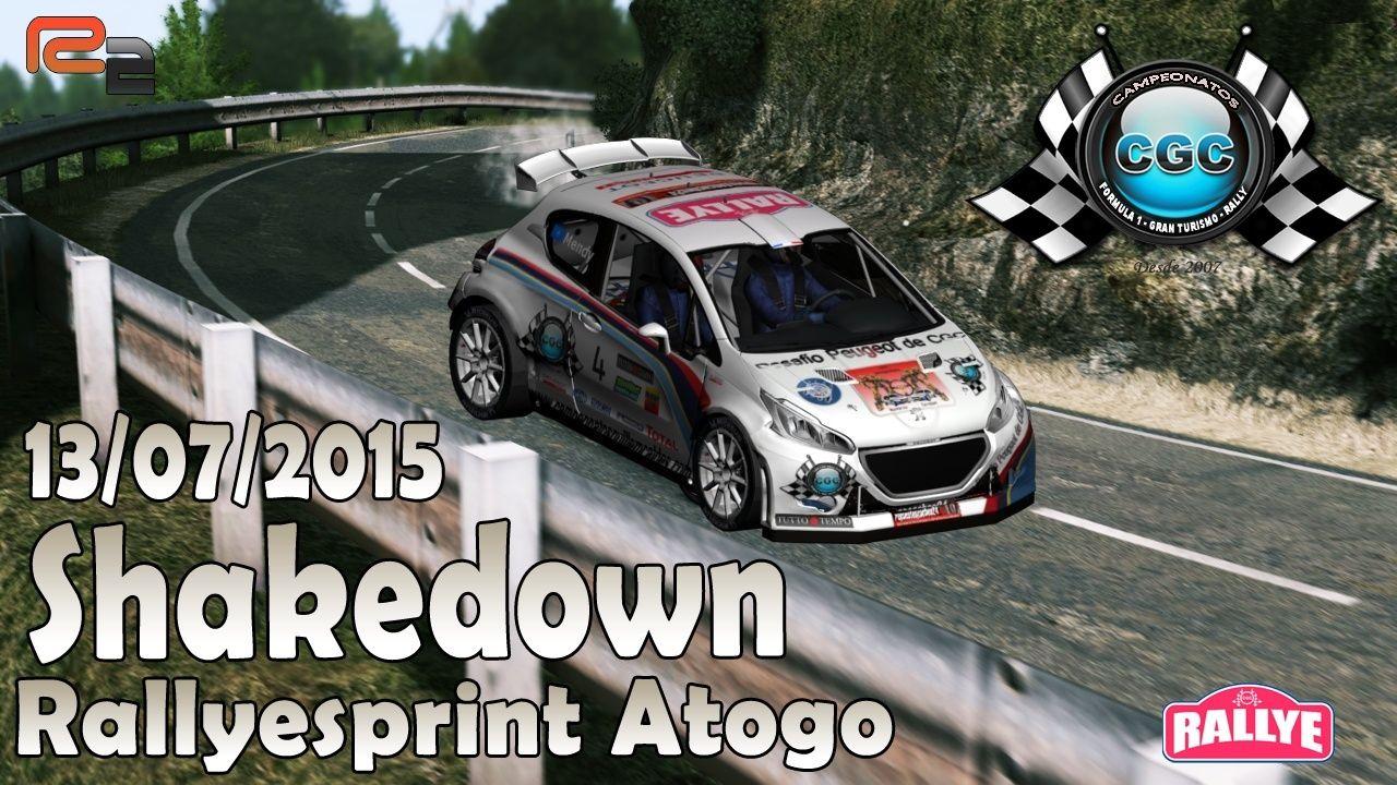 Confirmación Shakedown Rallyesprint Atogo CGC R2 13/07/2015 Shaked14