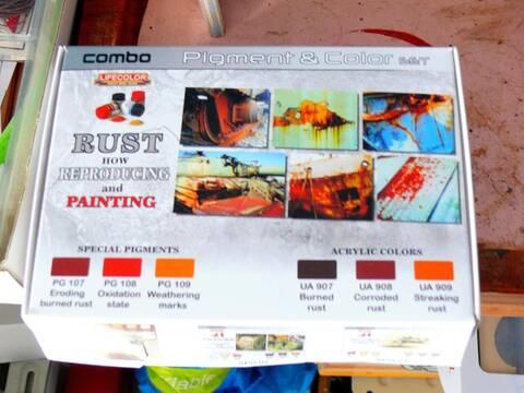 pigments fa18 18 x peintures Sèche Couleurs Vieillissement Weathering