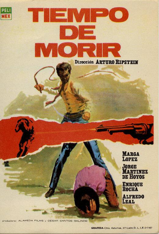 Tiempo de morir (1965) de Arturo Ripstein scénario Gabriel García Márquez et Carlos Fuentes Tiempo10