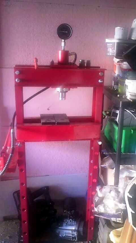 manomètre presse hydraulique bloquée  11815812