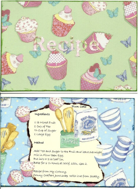 Recipe cards from Scatty Scatty10