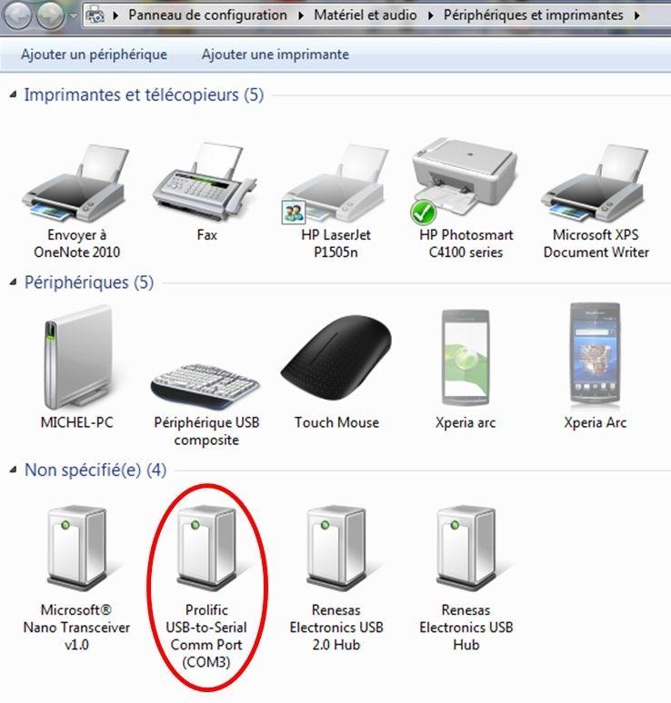 quel logiciel avec une arche robitronic ? Connec10