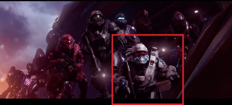 Personnages de Halo 5: Guardians (Characters/Héros/Didacte/Lasky/Palmer/Dr Halsey/Anderson/S179/S104/S043/Majestic Squad/Marines/Spartan 4/Linda 058/Kelly/Johnson/Guilty Spark/Arbiter/Master Chief/Cortana/Forerunner/UNSC/Rampacy/John 117/ODST/Spartan) Sparta11