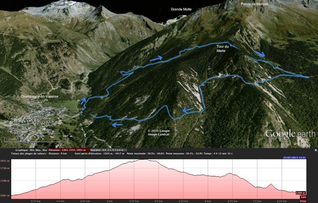Champagny - la Tour du Merle Tour_d10