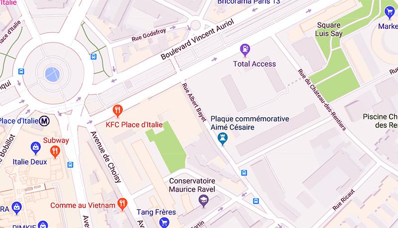 Le 2 décembre 2018  Mini-Bourse Paris XIIIème  22ème édition Plan-110