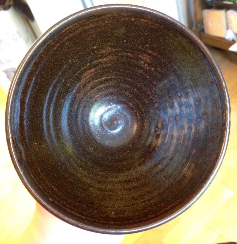 Tenmoku bowl with FS mark - Fergus Stewart? Image174