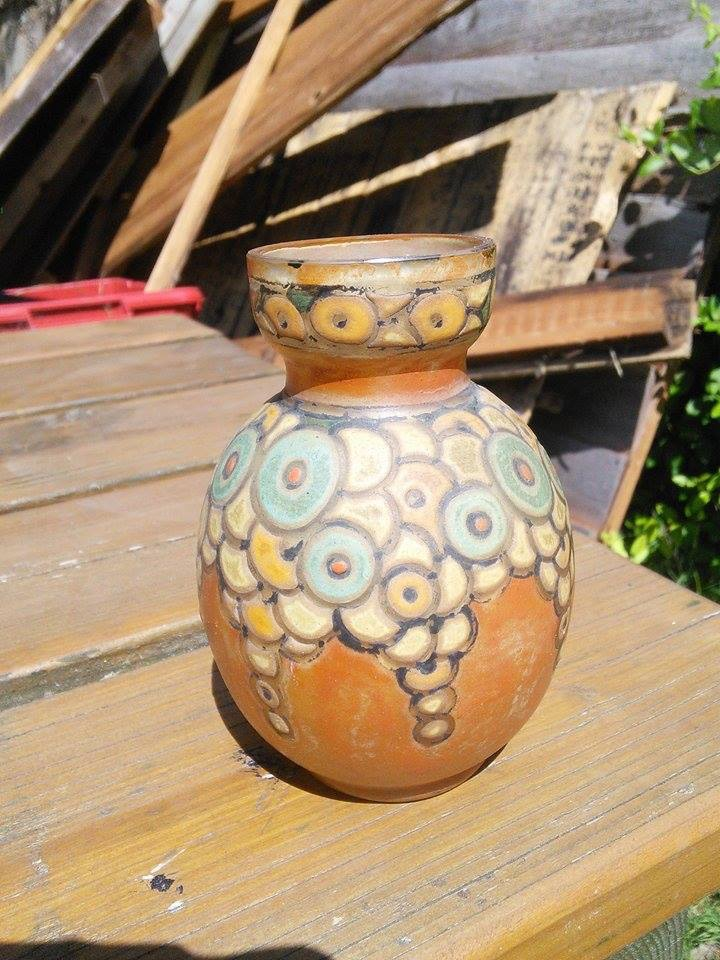 Pretty Art Nouveau Small Vase Image322