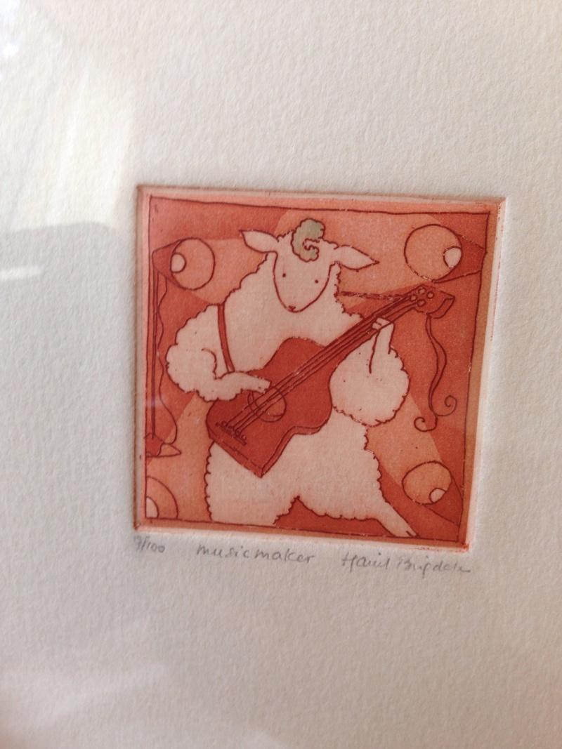 Music Maker print.  Image500