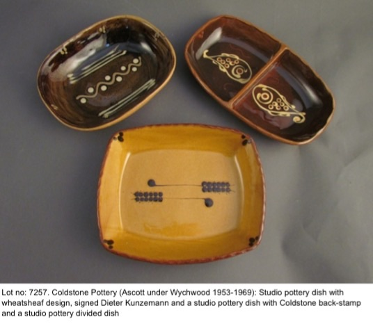 Dieter Kunzemann & Chris Harries - Evenlode and Coldstone Potteries Image57