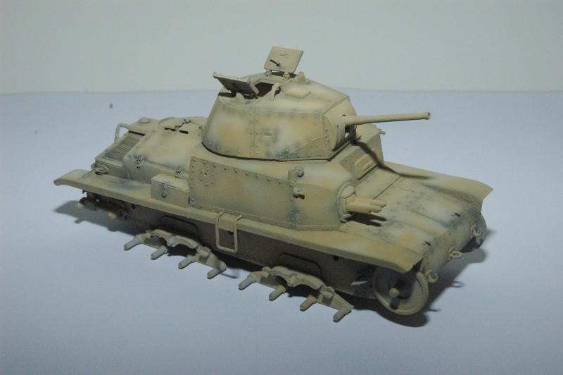 CARRO ARMATO M13/40 TAMIYA PE ET ACCESSOIRES ROYAL MODEL 1/35 TERMINE - Page 3 Ca1910