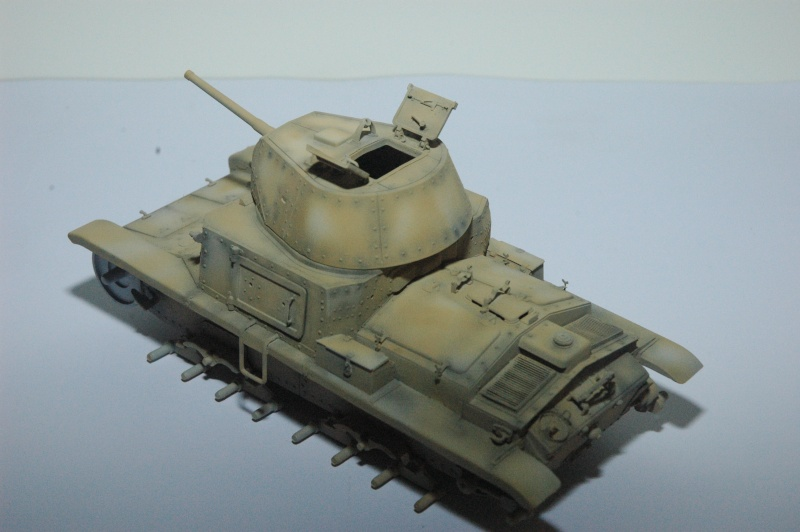 CARRO ARMATO M13/40 TAMIYA PE ET ACCESSOIRES ROYAL MODEL 1/35 TERMINE - Page 3 Ca2010