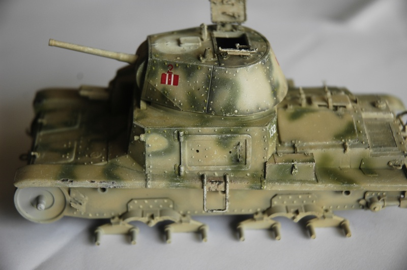 CARRO ARMATO M13/40 TAMIYA PE ET ACCESSOIRES ROYAL MODEL 1/35 TERMINE - Page 5 Ca3310