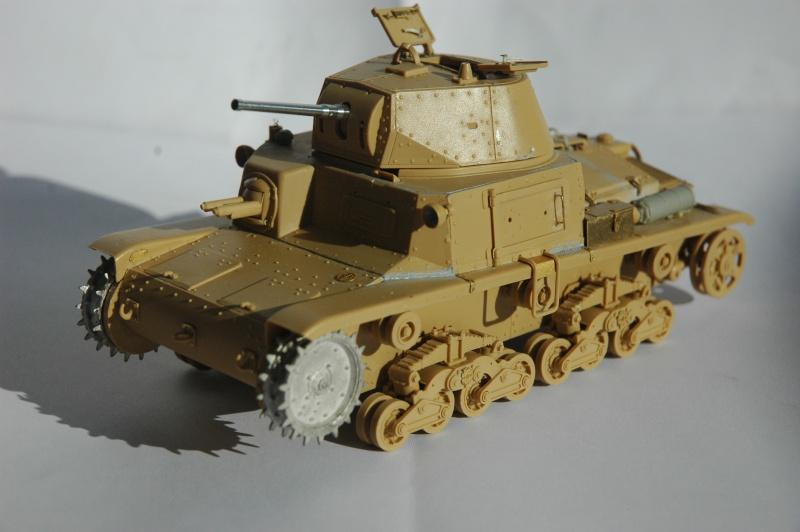 CARRO ARMATO M13/40 TAMIYA PE ET ACCESSOIRES ROYAL MODEL 1/35 TERMINE Ca_0110
