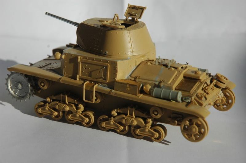 CARRO ARMATO M13/40 TAMIYA PE ET ACCESSOIRES ROYAL MODEL 1/35 TERMINE Ca_0210