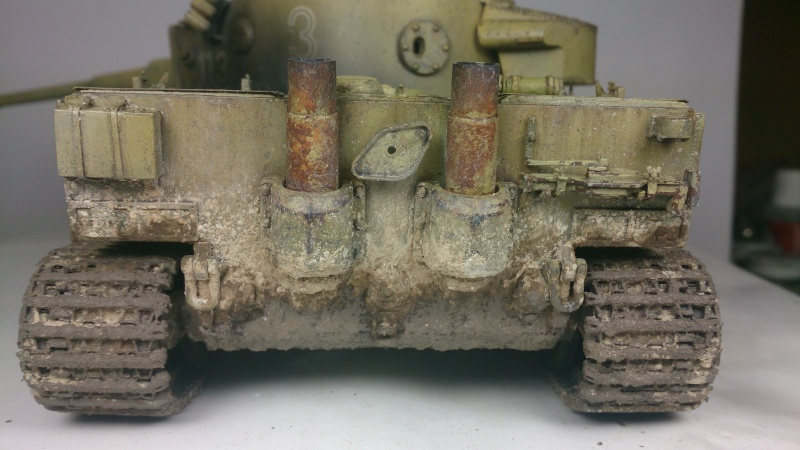 Tigre I dans l'hiver russe   TAMIYA 1/35 - Page 2 Fin_210