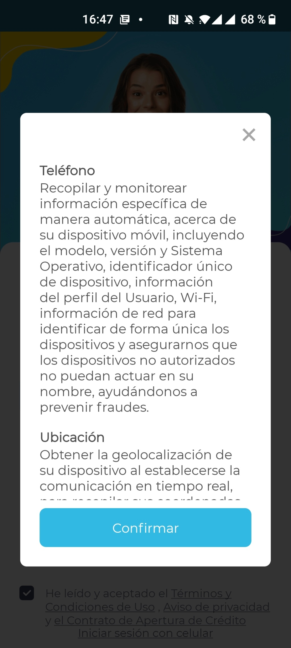 Estos son todos los permisos que le das a una App (Fintech de préstamos en línea)  Screen13