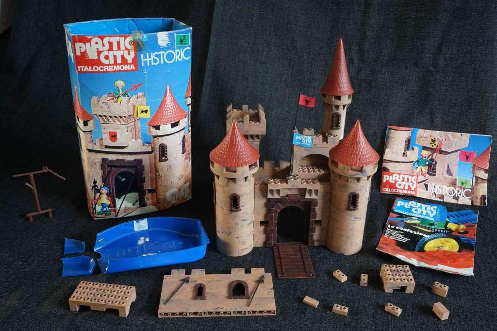 lego plastic city italocremona anni 70 Histor12