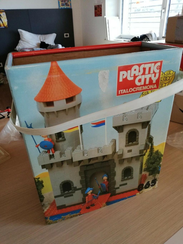 lego plastic city italocremona anni 70 Plasti11